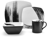 Mikasa Brushstroke Square 4 Piece Place Setting