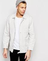 Waven Worker Jacket Mikel Mink Grey