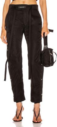 Fear Of God Nylon Cargo Pant in Black | FWRD