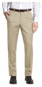 Galaxy By Harvic Enrico Bertucci Men's Belted Slim Fit Dress Pants