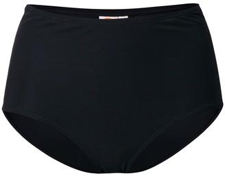 Tory Burch solid high-waist bikini bottoms