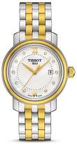Tissot Bridgeport Women's Two-Tone Quartz Watch with Diamonds, 29mm