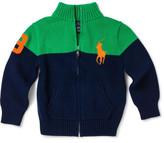Polo Ralph Lauren Cotton Full-Zip Sweater (5-7 Years)