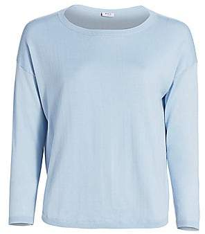 Akris Punto Women's Rounded Wool Knit Pullover Sweater