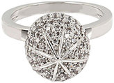 Betsey Johnson Betsey Blue Pave Ball Ring Set