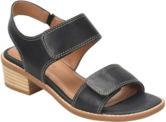 Comfortiva Leather Sandals - Baja