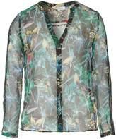 Morgan Exotic Print Chiffon Shirt
