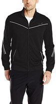 Calvin Klein Men's Performance Long Sleeve Core Mock Neck Elite Track Jacket