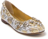 Dolce & Gabbana Embellished Flat (Toddler, Little Kid, & Big Kid)
