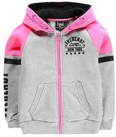 Everlast Kids Girls Zip Hoodie Hoody Hooded Top Long Sleeve Full Regular Fit