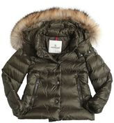 Moncler Alice Hooded Nylon Down Jacket