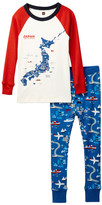 Tea Collection Japan Fitted 2-Piece Pajama (Toddler, Little Boys, & Big Boys)