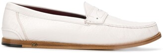 Dolce & Gabbana Mocassin Leather Loafers