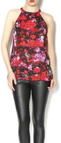 BB Dakota Electric Rose Top