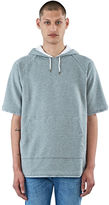 Marni Men's Short Sleeved Hooded Sweater In Grey