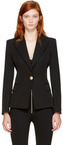 Balmain - Blazer noir Classic Single-