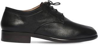 Maison Margiela Tabi Leather Lace-Up Shoes