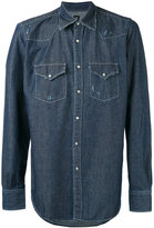 Eleventy denim shirt - men - Cotton - M