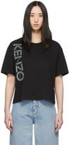Kenzo Black Logo Boxy T-Shirt