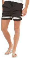 French Connection Mens Runner Shorts Black