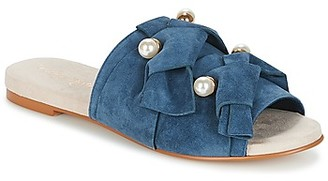 KG by Kurt Geiger NAOMI-BLUE women's Mules / Casual Shoes in Blue