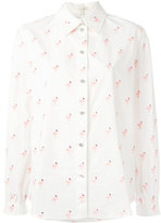 Marc Jacobs flamingo print shirt - women - Cotton - 0