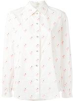 Marc Jacobs flamingo print shirt - women - Cotton - 4