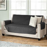 Charlton Home Carnside Diamond Box Cushion Sofa Slipcover