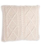 Lemon Mixed Knit Pillow Case and Down Pillow Set