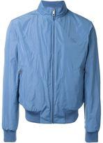 Burberry zip pocket bomber jacket - men - Cotton/Polyester - XS