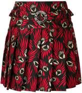 Dolce & Gabbana jacquard pleated skirt