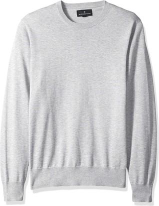 Buttoned Down Men's Supima Cotton Lightweight Crewneck Sweater