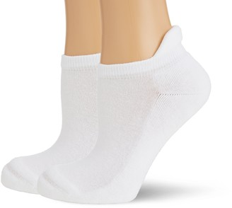Hudson Women's Pack of 2 100 DEN Ankle Socks - White - 35