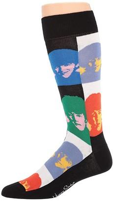 Happy Socks Beatles All Together Now Sock (Multi) Men's Crew Cut Socks Shoes