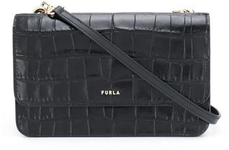 Furla Embossed Crossbody Bag