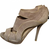 Christian Dior Grey Suede Heels