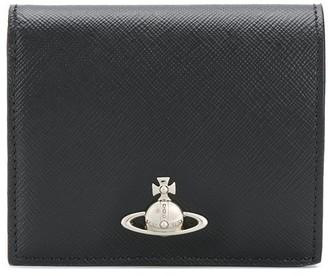 Vivienne Westwood logo plaque square wallet