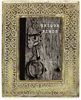 Argento Unique Finds 4-Inch x 6-Inch Garland Picture Frame in Gold/Cream
