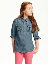 Old Navy Chambray Shirt for Girls
