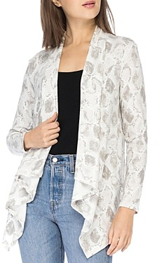 Baobab Collection Amie Draped Front Cardigan