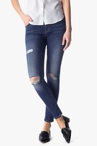 7 For All Mankind The Ankle Skinny With Destroy In High Street