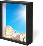 Swing Design Chroma Shadow Box Frame, 8 by 10-Inch, Black