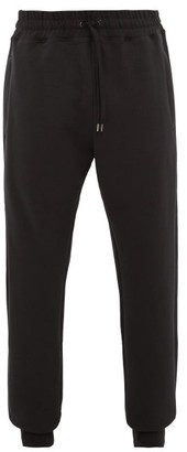 Raey Drawstring-waist Cotton-jersey Track Pants - Black