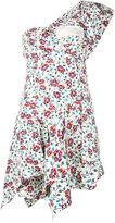 Isabel Marant floral shift dress - women - Cotton/Silk - 36