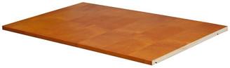 Palace Imports Optional Shelf for Family, Grand, Flexible Wardrobes, Honey Pine
