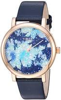 Timex Women's TW2R66400 Crystal Bloom Leather Strap Watch