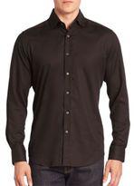Robert Graham Baylor Textured Button-Down Shirt