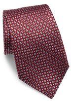 Armani Collezioni Printed Silk Tie