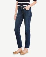 Ann Taylor Petite Raw Edge Crop Jeans