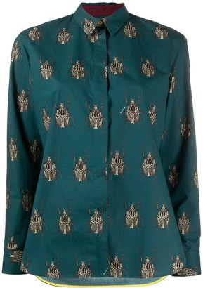 Paul Smith Beetle Print Shirt